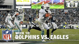 Reshad Jones Seals Dolphins Victory with Huge End Zone INT! | Dolphins vs. Eagles | NFL