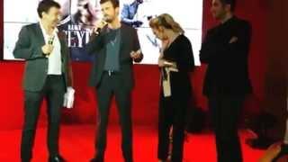 Kivanc , farah , Hilal Saral ,ece yörenç in cannes t.v festival (1) 2017 Video