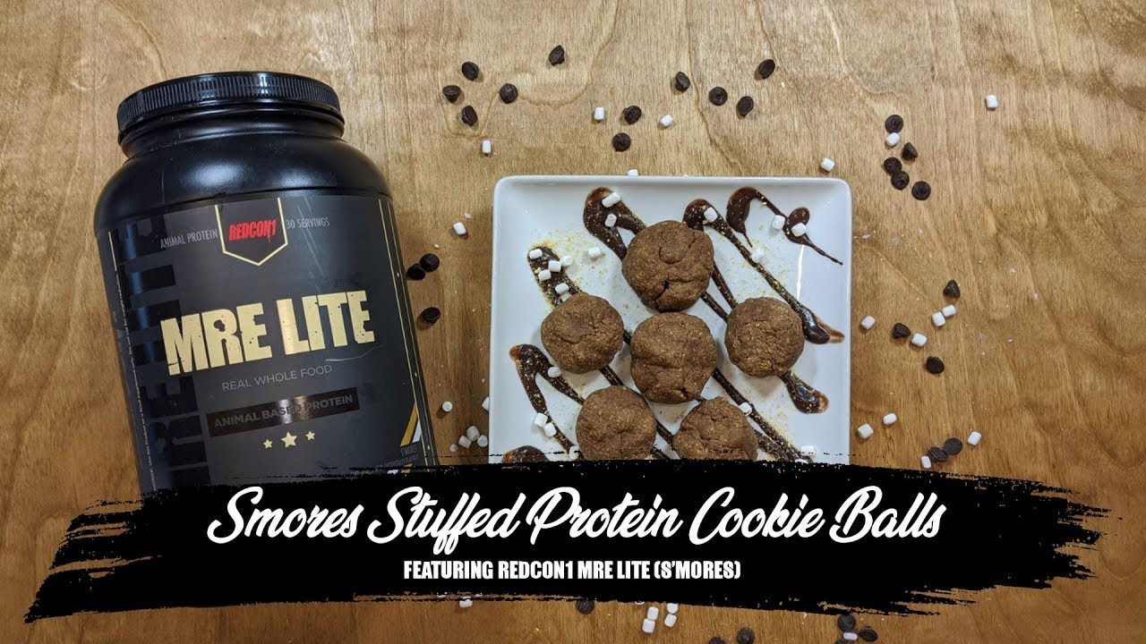 Smores Stuffed Animal, S Mores Stuffed Protein Cookie Balls
