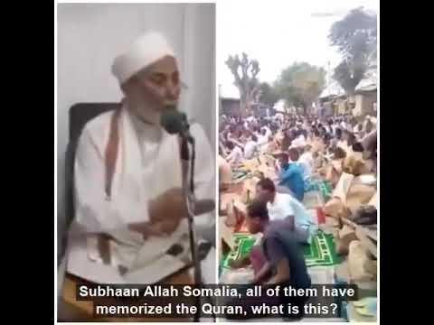 Beautiful report on Quran memorisation in Somalia