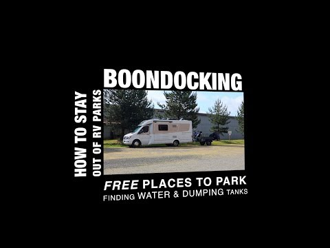 How to Stay out of RV Parks | Free Camping & Places to Park | Boondocking