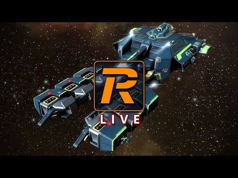 EVE Online Wormhole Gas Mining in a Prospect | LIVE