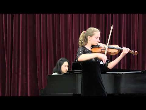 Violin Concerto in D Major (Adelaide) by Mozart