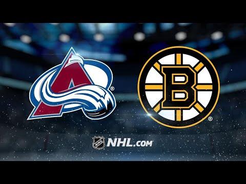 Varlamov, Avalanche shut out Bruins, 4-0