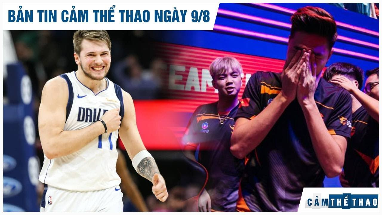 Bản tin Cảm Thể Thao 9/8 | Doncic phá kỷ lục của Jordan, Gấu hé lộ lý do nghỉ thi đấu Team Flash
