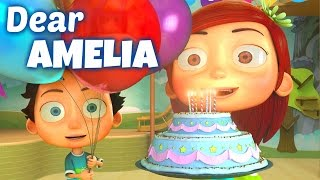 Happy Birthday Song to Amelia