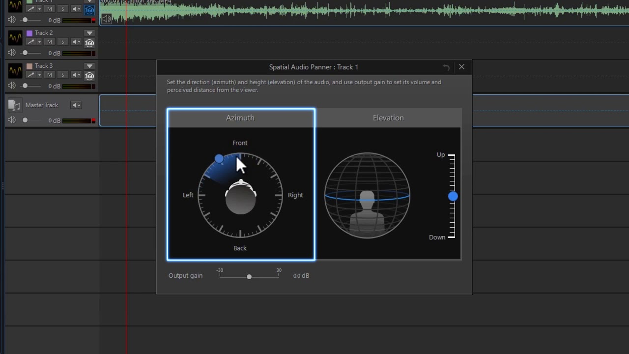 AudioDirector - Spatial Audio Editing for 360º Video | CyberLink