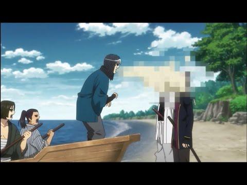 Gintama: Sakamoto vomita Gintoki y Takasugi