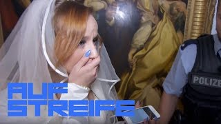 Verrückte Braut - Bildet sie sich die Hochzeit nur ein? | Auf Streife | SAT.1 TV