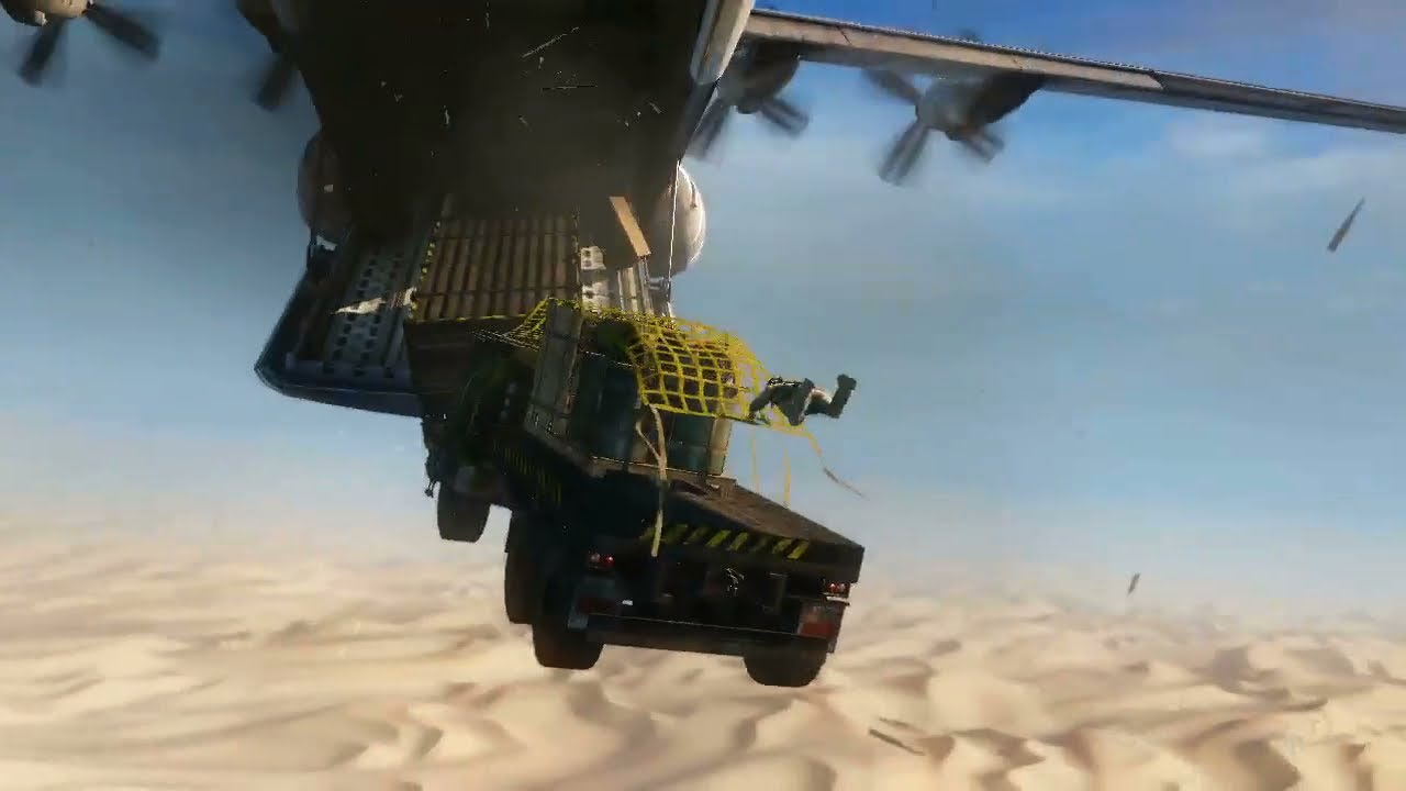 Uncharted 3 Drake S Deception Cargo Plane Playthrough Pt 2