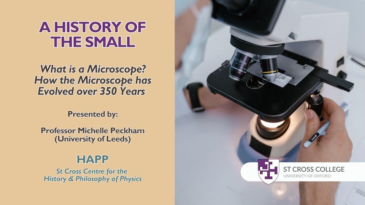 "Download ""A History of the Small"" - HAPP Centre - Professor Michelle Peckham"