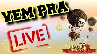 #RUMO2K - CLASH OF CLANS - CWL - TROPA DE ELITE x APOCALYPTO !! BOA NOITE !! LIVE ON !!!