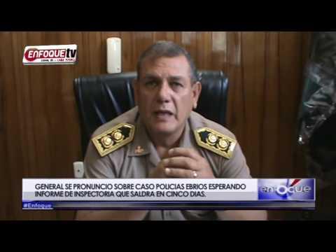 GENERAL GALVEZ SE PRONUNCIO SOBRE CASO POLICIAS EBRIOS ESPERANDO INFORME DE INSPECTORIA QUE SALDRA E