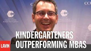 Innovation Speaker Tom Wujec: Kindergarteners Outperforming MBAs