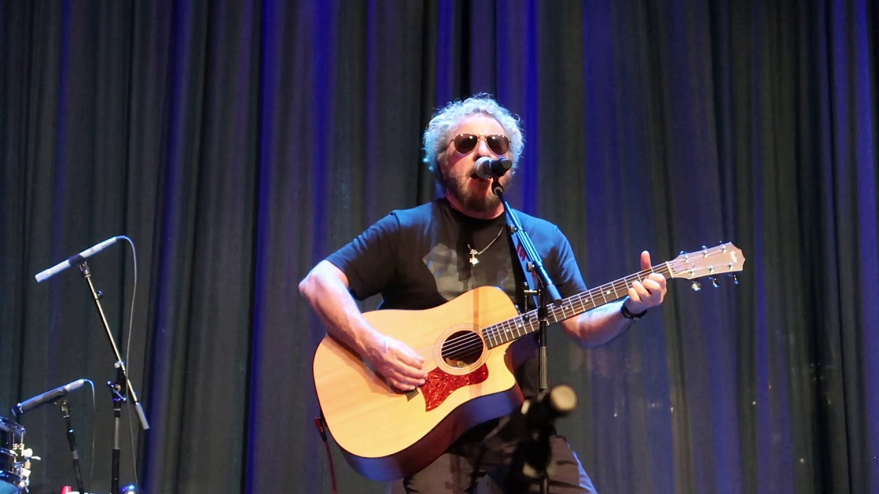 Sammy Hagar Father Time Acoustic Rock Legends Cruise Vi 2 17 18 Youtube