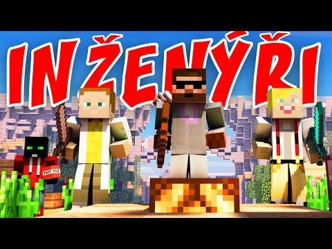 Pedro, Gejmr, Jirka a Marwex   BRIDGE BUILDERS - Inženýři   Minecraft minihry