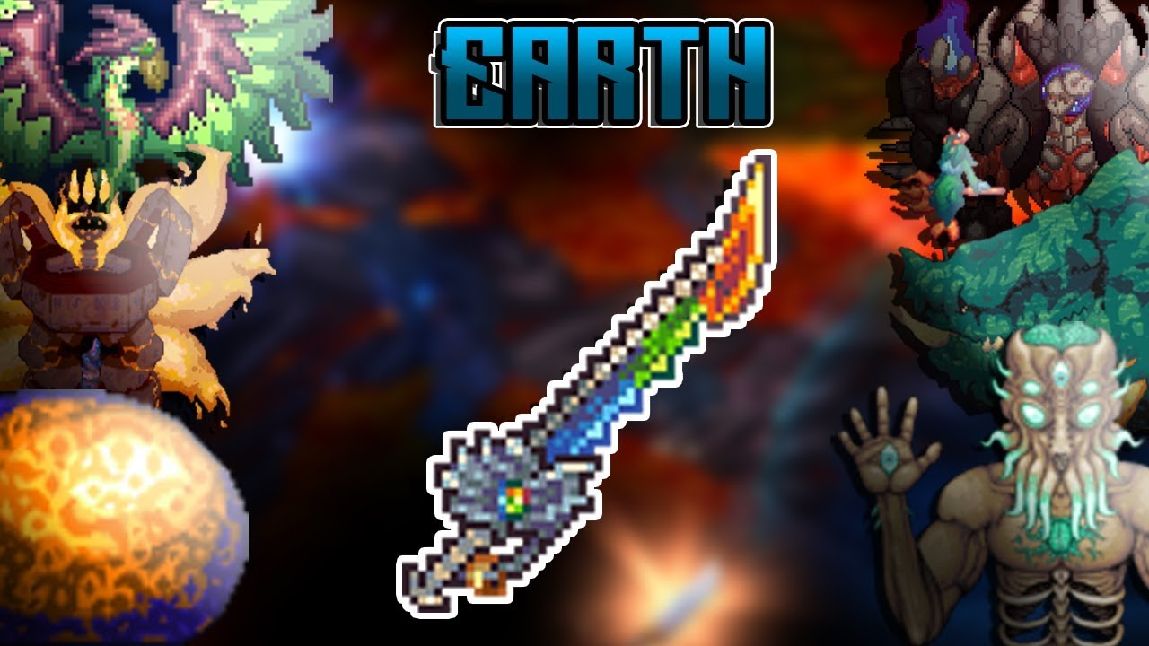 TERRARIA - EARTH VS  ALL BOSSES AT THE SAME TIME by carnage