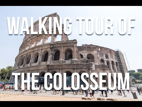 Walking Tour of the Colosseum    Rome, Italy 🇮🇹