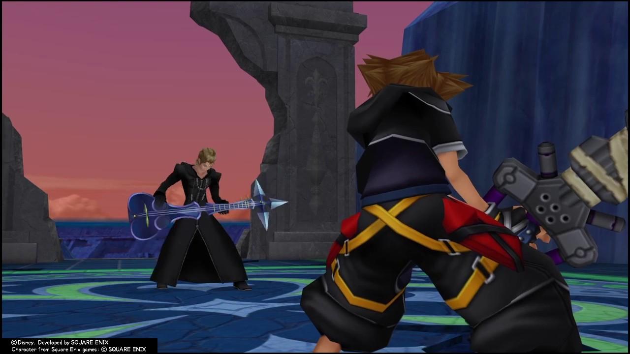 KINGDOM HEARTS - HD 1.5+2.5 ReMIX (PS4) Roxas Boss Battle