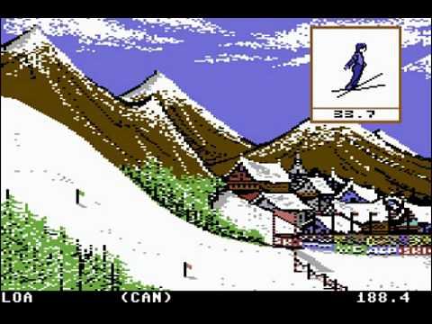 C64 Longplay - Winter Games