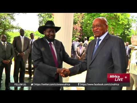 President Salva Kiir visits South Africa, meets Zuma