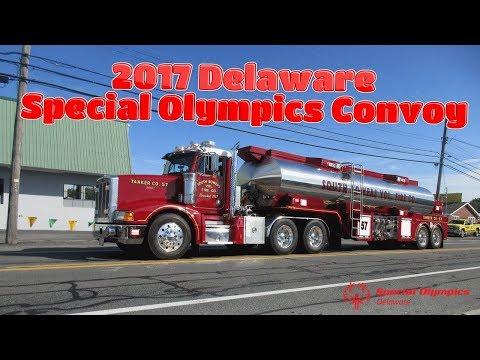 2017 Delaware Special Olympics Convoy!