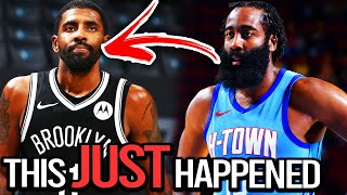 BREAKING: JAMES HARDEN TRADED TO THE BROOKLYN NETS in HUGE MULTI TEAM BLOCKBUSTER ft(KYRIE IRVING)