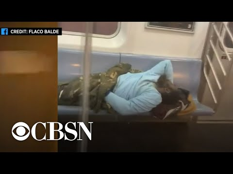 Homeless population a growing health issue in New York City's subway system