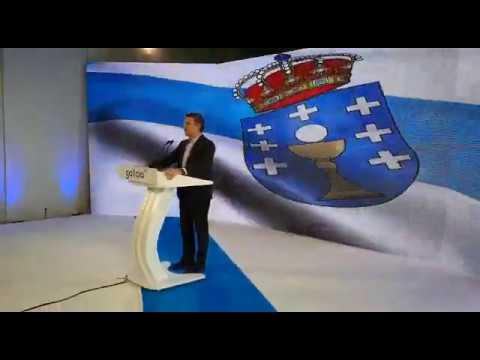 """Feijóo acusa al Gobierno central """"de haber perdido la dignidad"""""""