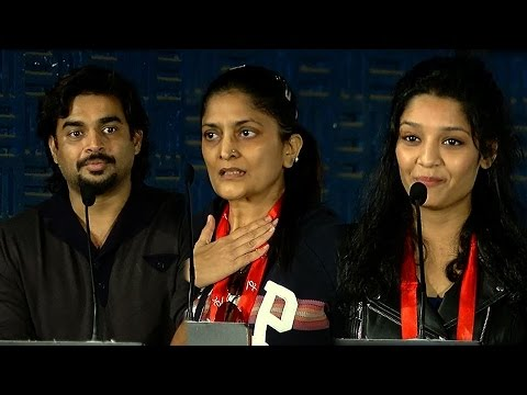 I learned Most Of The Bad Words In Tamil - Irudhi Suttru Team Emotional moments