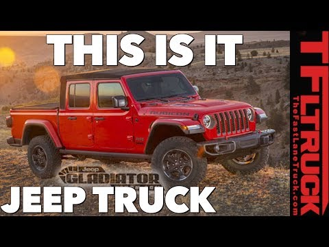Breaking News: 2020 Jeep Gladiator Images & Specs Leaked!