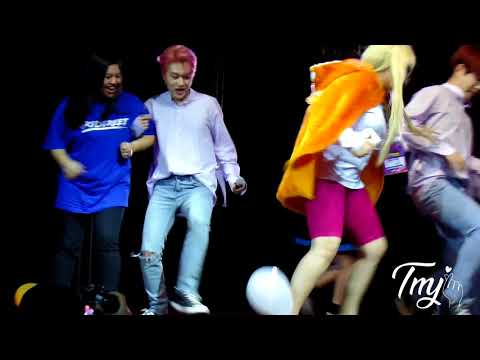 [Blanc7 in Brazil] 180708 Anime Friends Fanmeeting - Baloon Game