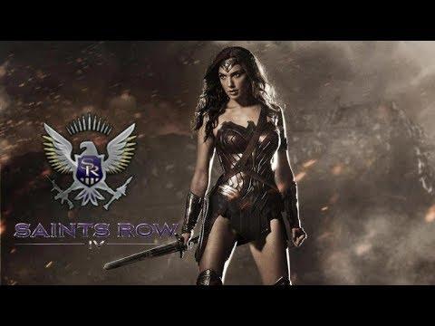 How to create Wonder Woman (Gal Gadot) For Saints Row 4