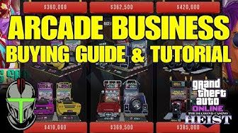 GTA ONLINE - ARCADE BUSINESS BUYING GUIDE AND TUTORIAL!!! (EVERYTHING YOU NEED TO KNOW)