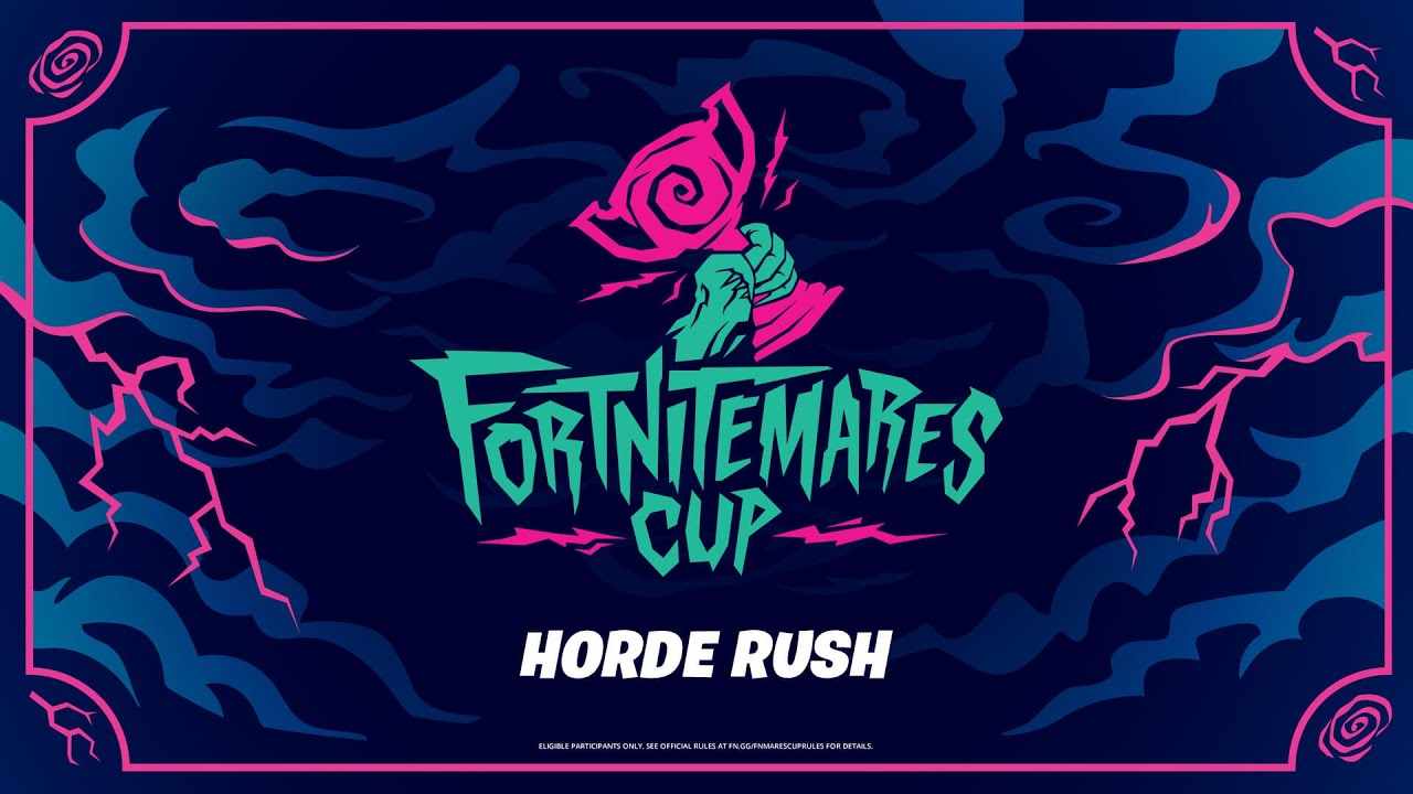 How to Unlock FREE Rewards with the Fortnitemares Cup (Horde Rush PvE Tournament)
