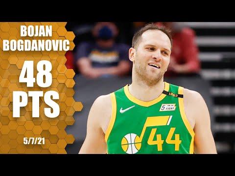 Bojan Bogdanovic scores CAREER-HIGH 48 PTS!