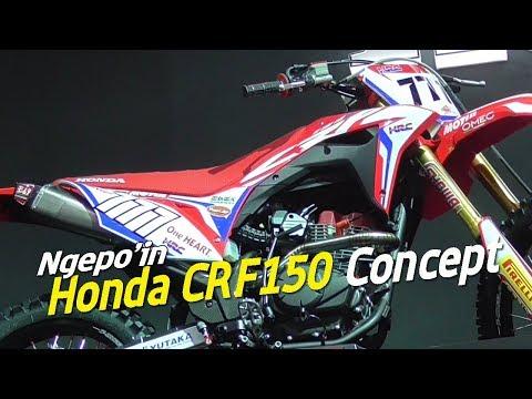 Kupas CRF150 Concept . . . Kayaknya Bakal dekat dengan versi produksi massalnya Nanti