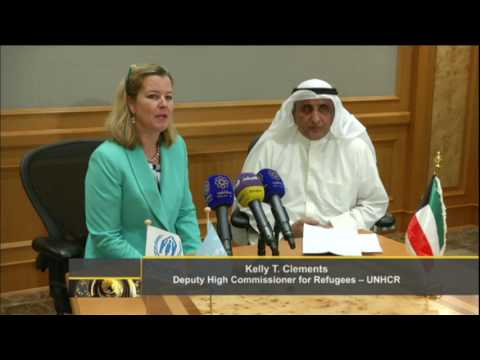 KFAED & UNHCR sign aid agreement for Syrian refugees in Iraq