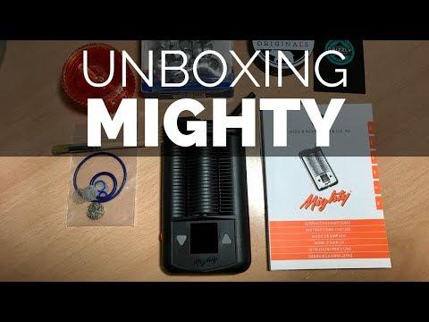 Unboxing vaporizador Mighty (Storz & Bickel)
