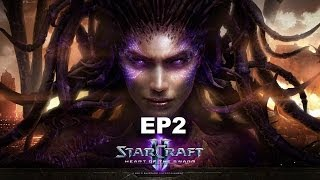 STARCRAFT 2 HEART OF THE SWARM PT BR EP2 # DE VOLTA À AÇÃO !#!