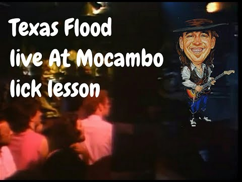 stevie ray vaughan texas flood lick 0 30 tabs live at the el mocambo youtube. Black Bedroom Furniture Sets. Home Design Ideas