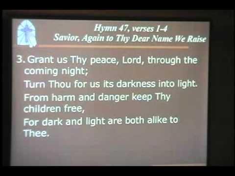 The Blessing/Savior, Again to Thy Dear Name We Raise
