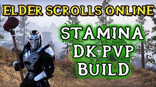 NEW) PvP Build - Stamina Dragonknight 2h/Bow - ESO - Vloggest