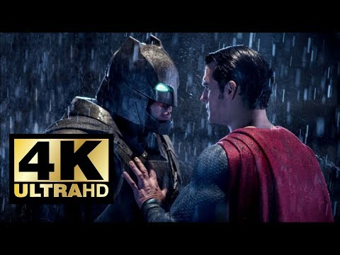 Batman Vs Superman FIGHT - Dawn Of Justice - Movie Clip 4k