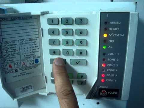 Napco xp-600 инструкция