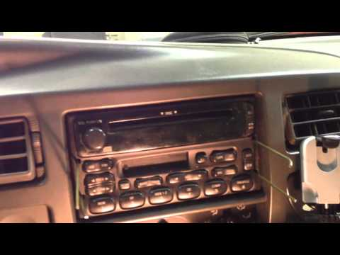 Ford Radio Removal- NO SPECIAL TOOLS