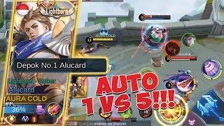 COLD MAKE SKIN EPIC ALUCARD, AUTO 1 VS 5!!!