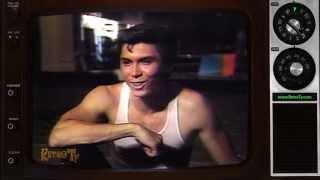 1987 - La Bamba EPK clip with Lou Diamond Phillips & Bryan Adams