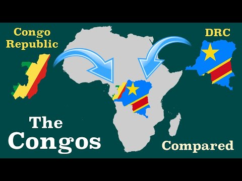 Democratic Republic of the Congo and Republic of the Congo Compared