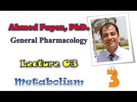 Pharmacology 03 metabolism | فارماكولوجي 03 ميتابوليزم